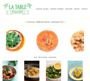 La Table Verte, cuisine cosmopolite végétalienne.
