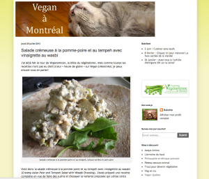 Vegan a Montreal - Capture