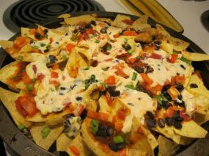 crème à nachos végétalienne