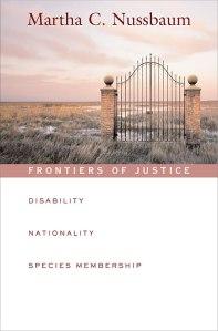 nussbaum - frontiers of justice