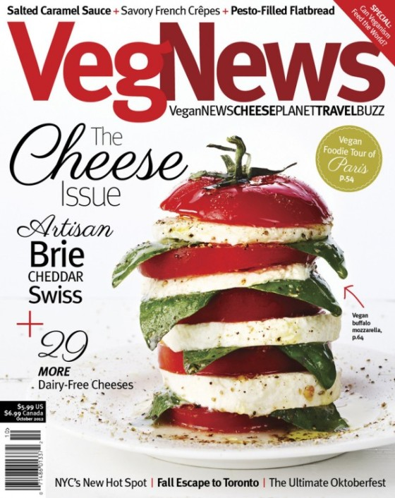 VegNews - The Cheese Issue