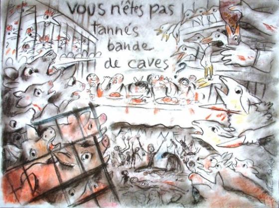 Frédéric Back, le dessinateur de « L'homme qui plantait des arbres», était végétarien et défendait aussi la cause animale.