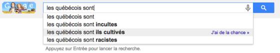 les québécois sont