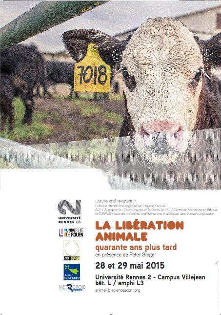 Rennes 40 ans libération animale