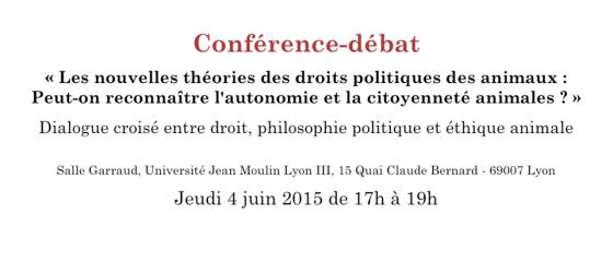 conférence-débat Lyon
