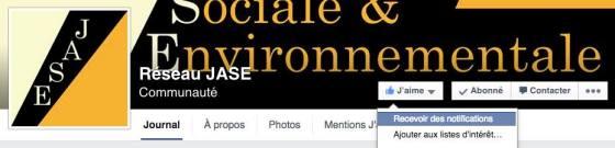 Abonnez-vous aux notifications afin de ne pas rater nos diffusions malgré les algorithmes de Facebook.