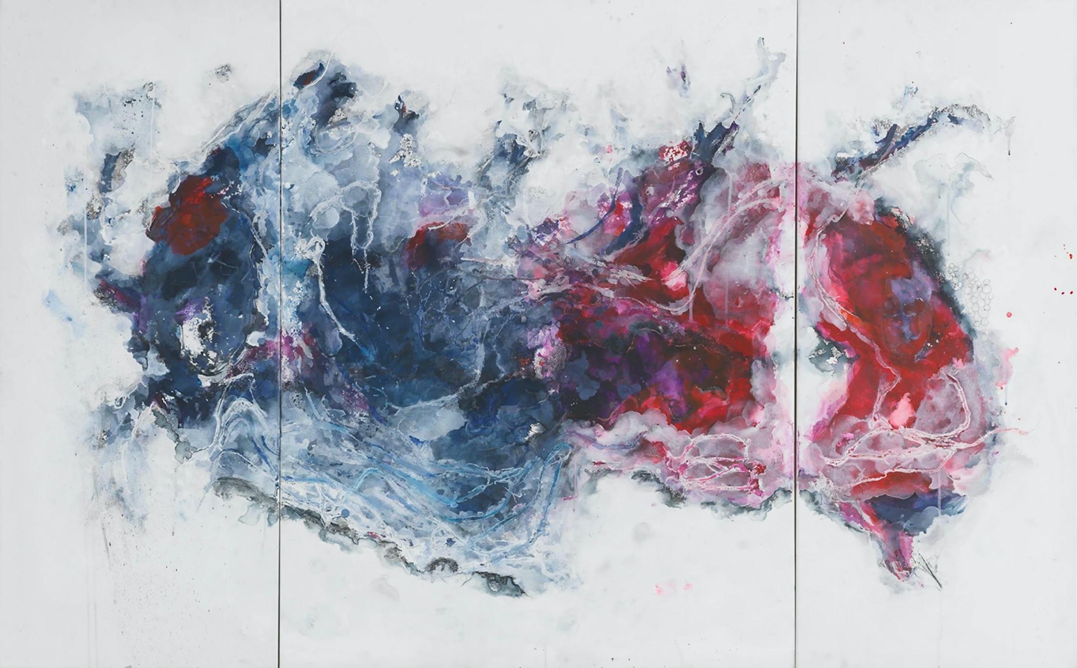 Peinture abstraite de Tarfa Fahad